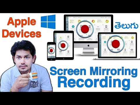Mirroring Screen Recording Apple Devices iPhone, iPad, iPod, MacBook Pro || in Telugu ||Tech-Logic
