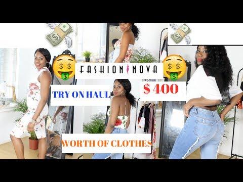 FASHION NOVA SUMMER TRY-ON HAUL: $ 400 $ worth of clothes !!   FASHIONNOVA HAUL