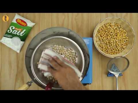 Salt Roasted Corn Makai & Chickpeas Chanay Recipe