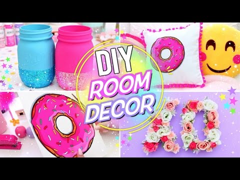 DIY BRIGHT & FUN ROOM DECOR! Pinterest Room Decor for Spring and Summer!
