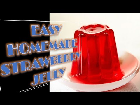 EASY HOMEMADE STRAWBERRY JELLY in just 10 mins!!