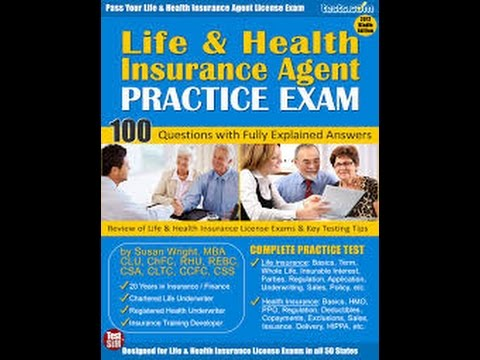 Life & Health Insurance License Exam Course Sample
