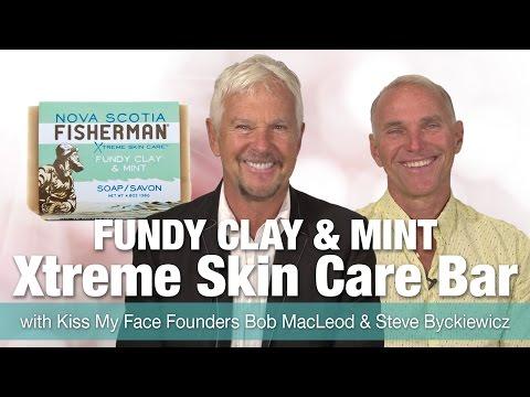 Nova Scotia Fisherman Xtreme Skin Care Bar with Kiss My Face Founders Bob McLeod & Steve Byckiewicz
