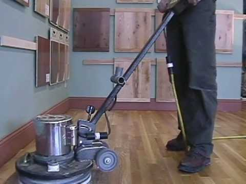 How to screen and re-coat a hardwood floor