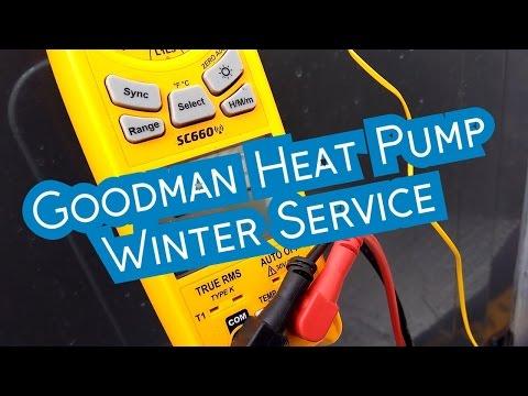 Goodman Heat Pumps | Winter Service