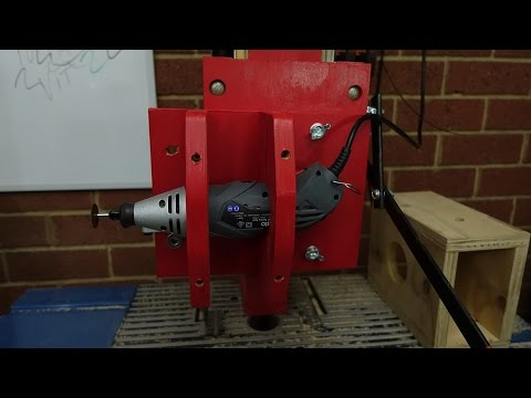 All in One Rotary Tool. Put onto Drill Press. How to Make. DIY. Woodworking Ideas.