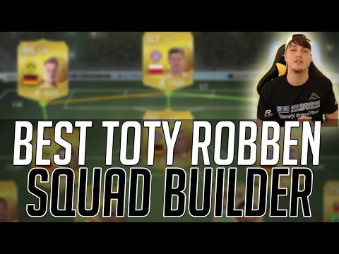THE BEST TOTY ROBBEN HYBRID SQUAD - TEAM OF THE YEAR | FIFA 15 Ultimate Team Squad Builder (FUT 15)