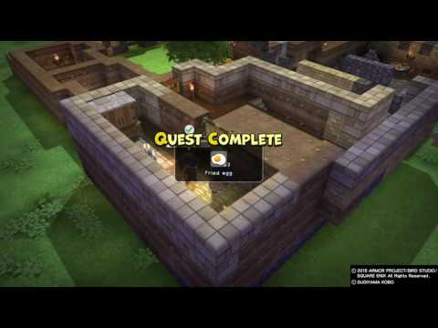 DRAGON QUEST BUILDERS Cantlin: Building Pippa's Dressing Room & A Second Floor/Other Refurbishments