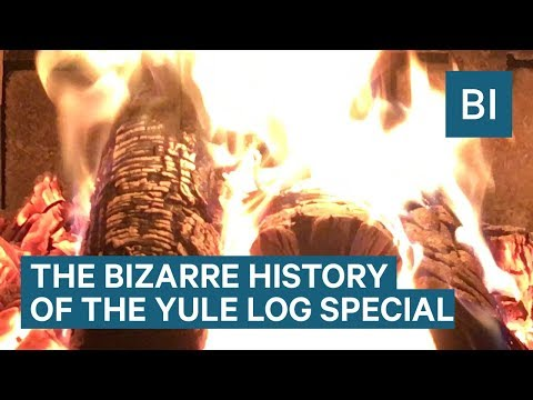 The Yule Log Christmas TV Special Explained