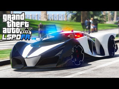 GTA 5 - LSPDFR Ep341 - X80 Proto Police Car Goes 276MPH!!
