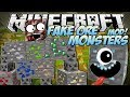Minecraft | FAKE ORE MONSTERS MOD! (Ores That Come to Life!) | Mod Showcase