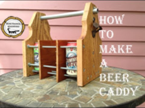 Woodworking : Beer Carrier/ DIY Six Pack// How-To