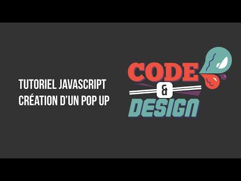 Tuto Javascript : Création d'un pop-up
