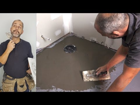 How To Install Floor Leveling Compound on Concrete