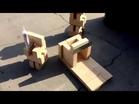 Fire Brick Rocket Stove Cheap and Easy