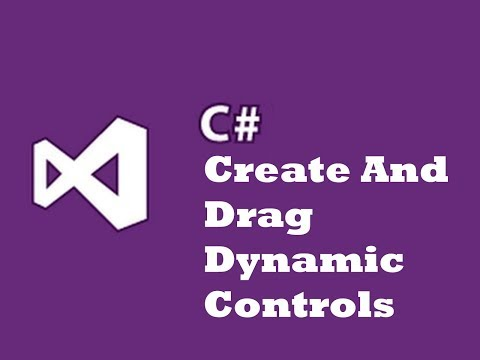 Create Dynamic Controls and Drag in Run Time (Winform App C#)