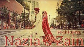 Nazia & Zain | Pakistani Wedding Cinematic Highlights