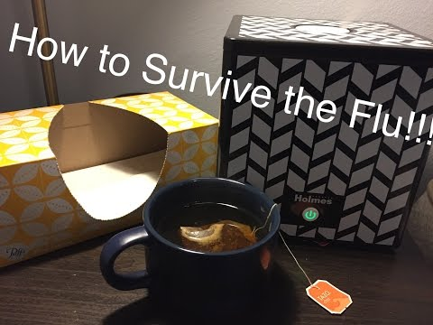 How to Survive the Flu while pregnant!