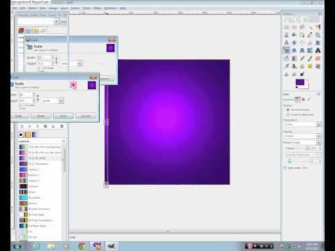 How to make a frame for imvu using gimp