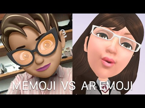 So sánh Memoji trên iOS 12 với AR Emoji trên S9