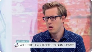 Evan Edinger on BBC Victoria Derbyshire on Gun Control