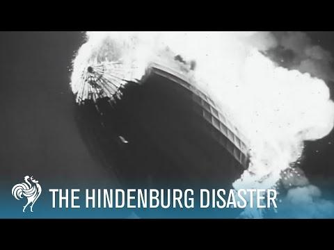 Hindenburg Disaster Real Footage (1937)