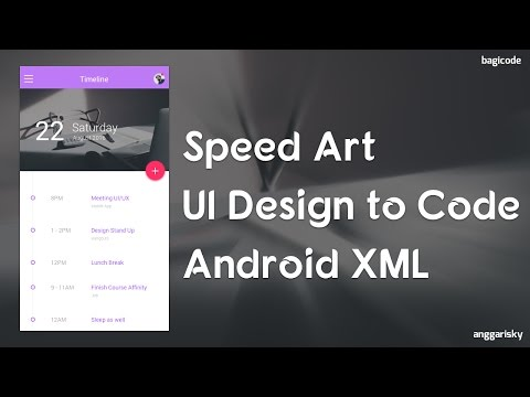 UI Design Timelapse   From Design to Code
