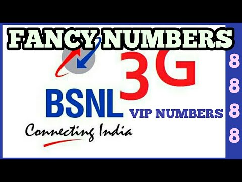 How to Get BSNL Fancy or VIP Numbers At Home
