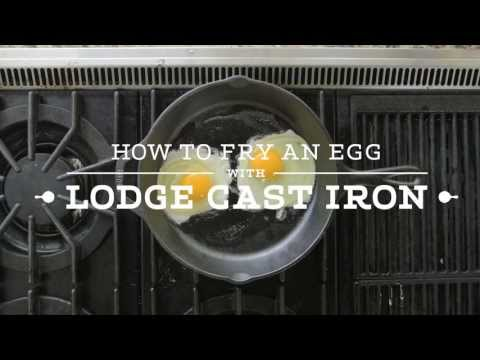 How to Fry an Egg in a Cast Iron Skillet