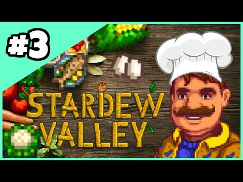 The MasterChef Challenge Ep. 3  NEW RECIPES and NEW PET! - Stardew Valley