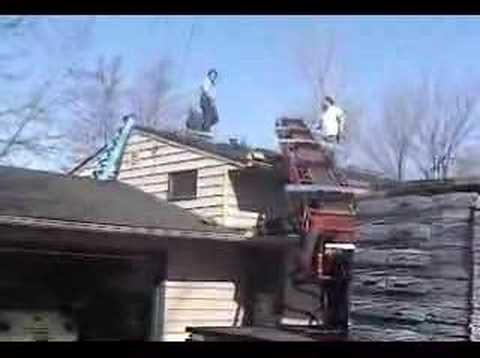 How To Load Shingles on Your Roof Part 1