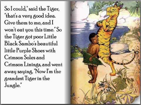 Little Black Sambo - Children's Interactive Storybook (Flip-book)