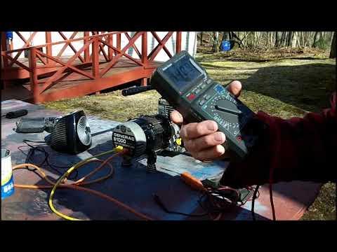 750 Watt GENERAC Final Adjustments & Test