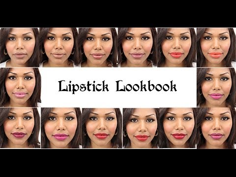 Lipstick lookbook (Perfect for pigmented lips)