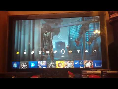 How to change your playstation theme to a custom theme (ps4 4.50)