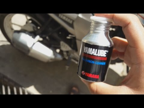 Yamalube carbon cleaner | Cleans bike Intake system!