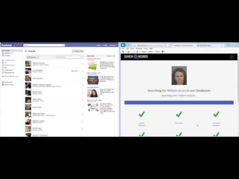 How to find the public records of anyone on Facebook