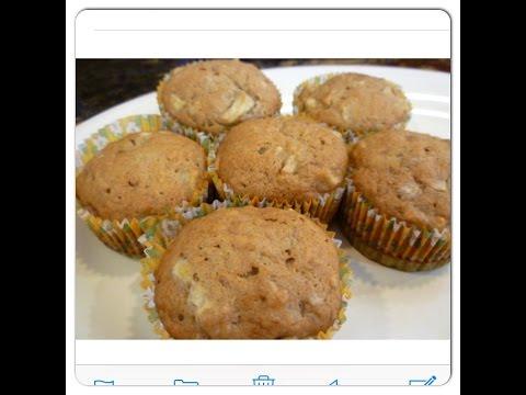 Super Easy & Moist Banana Apple Muffins | Kids will gobble it up!