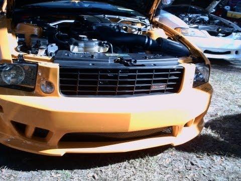 2007 Saleen H281 Mustang Convertible Orange SilvrSprOcala011213