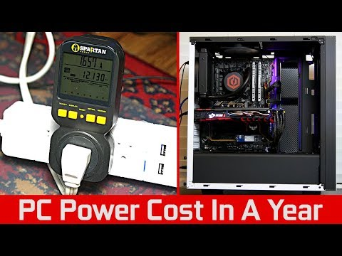 How Much Does It Cost To Run Your PC In A Year?