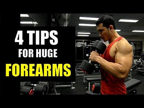 GET HUGE FOREARMS (4 असरदार टिप्स फोरआर्म्स के लिए)
