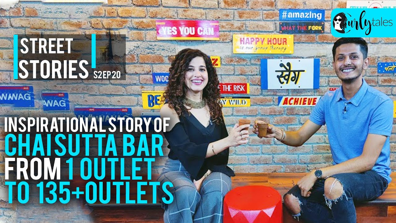 Success Story Of Indore's Anubhav Dubey From One Chai Sutta Bar To 135 Outlets |Street Stories S2E20