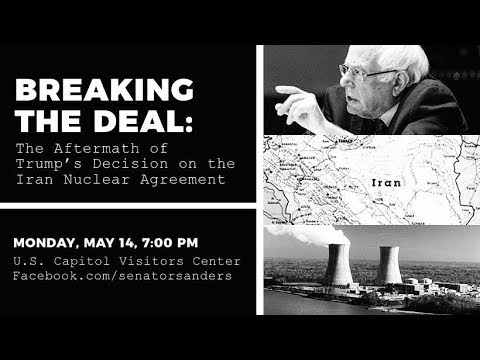 Breaking the Deal: Live Town Hall on the Iran Nuclear Agreement