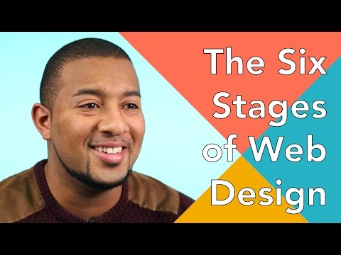 The 6 Stages of a Web Design Project - UX Design Principles