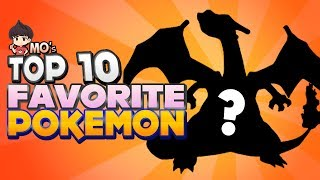 MunchingOrange's Top 10 Favorite Pokémon