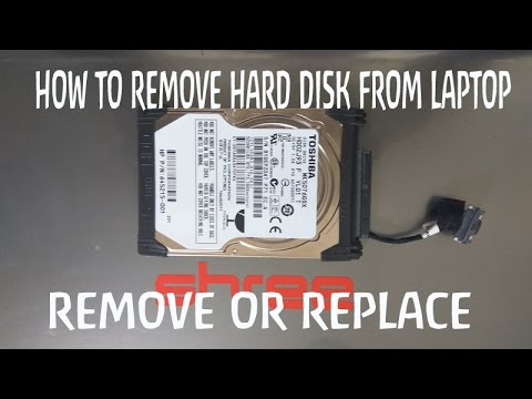 how to remove hard drive from laptop  hp pavilion g6 | how to replace hard drive from laptop