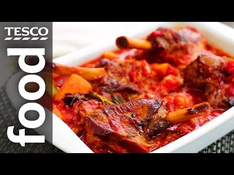 How to Slow Cook Lamb Shanks   Tesco Food