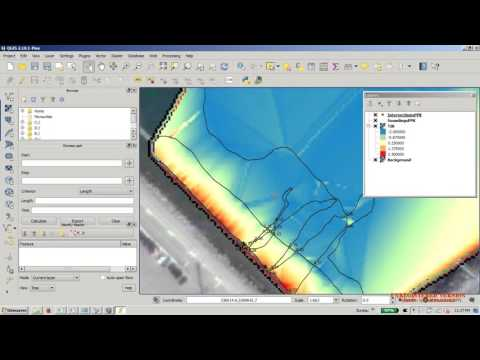 QGIS BackgroundMap, TIM and Contours