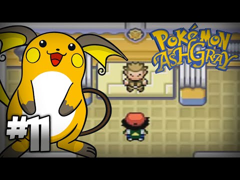 Let's Play Pokemon: Ash Gray - Part 11 - Vermilion Gym Leader Lt. Surge