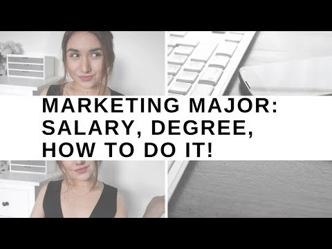 CC Student talks Marketing Major: Salary, Degree, How to do it!